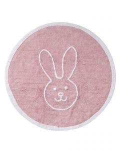 Washable Kid´s Rug Bambini Bunny Rose