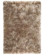 Shaggy rug Bright Brown
