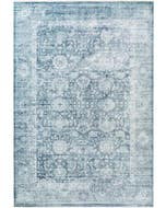 Viscose Rug Yuma Blue