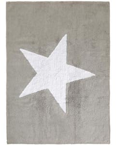 Washable Kid´s Rug Bambini Star Grey