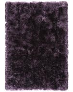 Shaggy rug Bright Purple