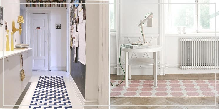 decorative hallway rugs