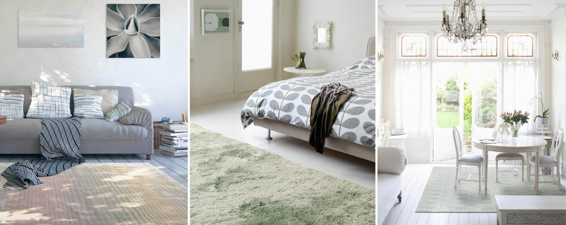 determining the rug size