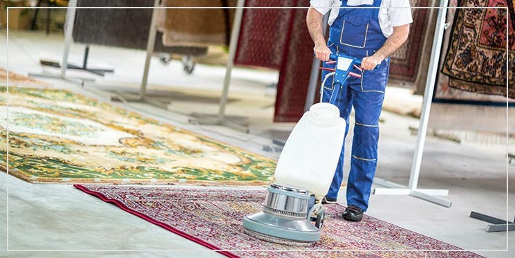 rug washing by professional rug cleaning
