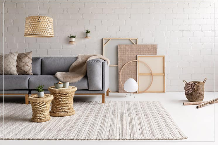 rugs for scandinavian interior style